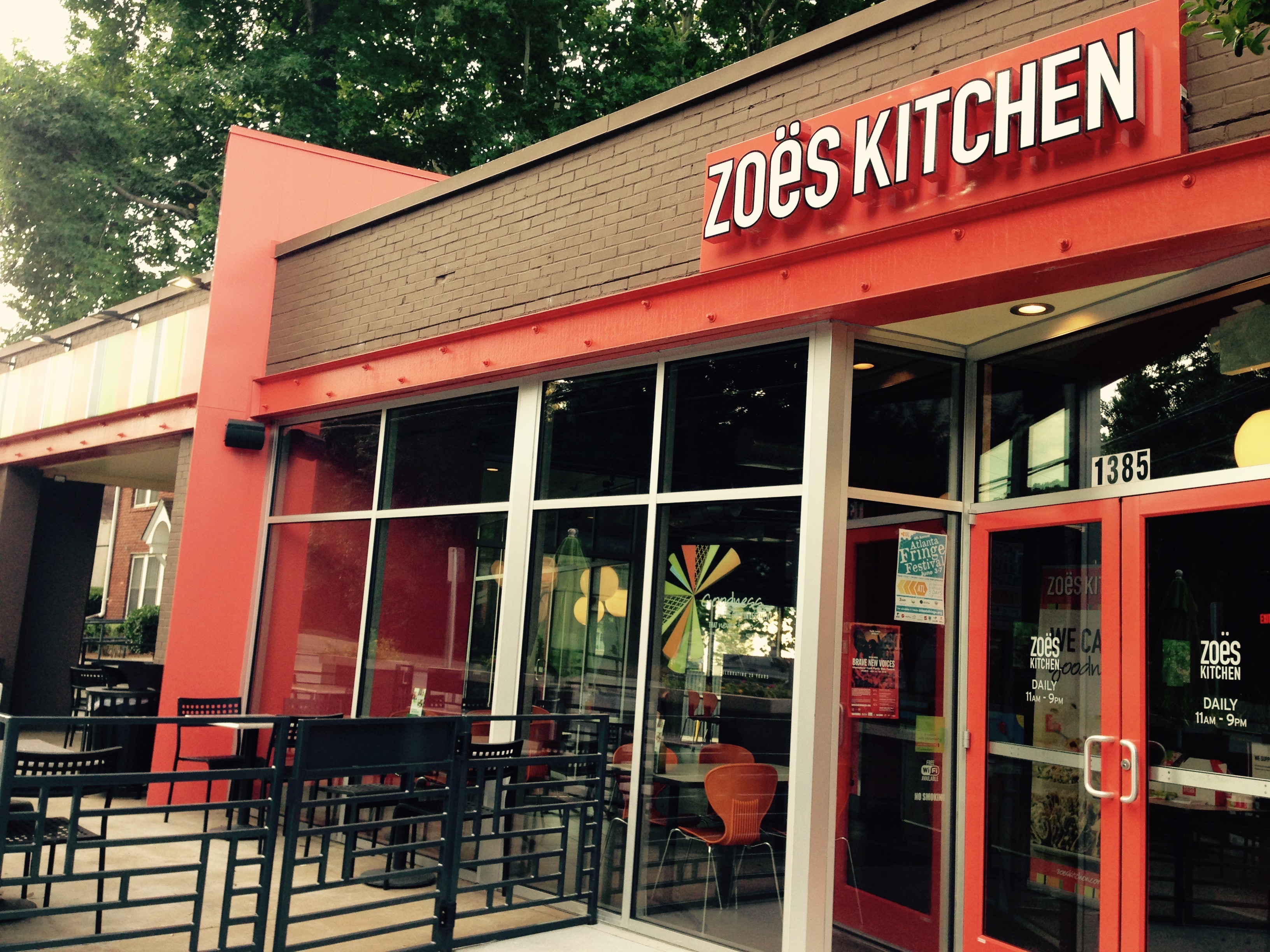 Zoes Kitchen Delivery Atlanta Wow Blog
